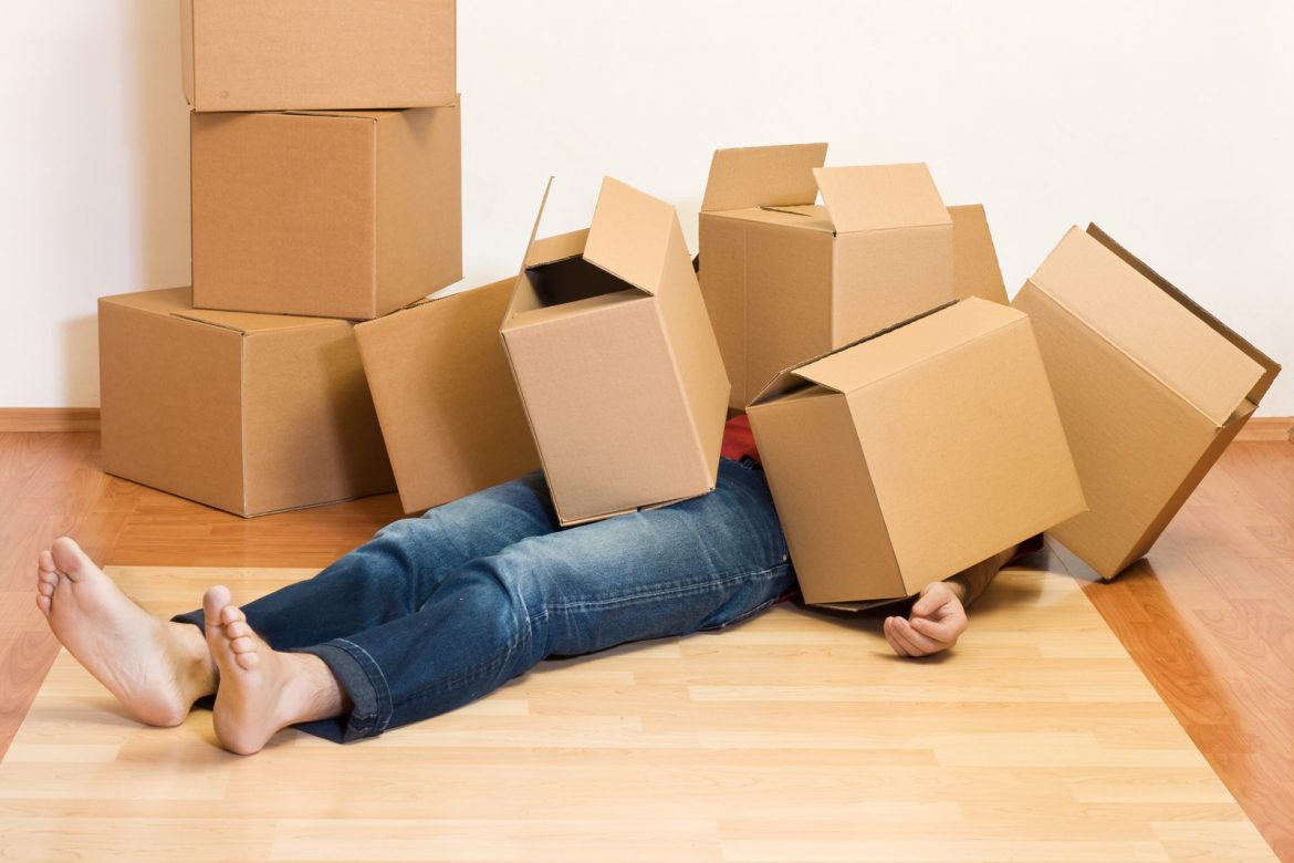 A few tips to reduce the stresses of moving.